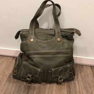 Green Marc by Marc Jacobs Leather oversized Purse